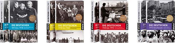 """Cover des Bücher """"Die Deutschen"""""""