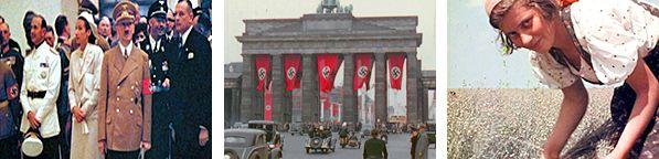 Hitler Berlin in Farbe