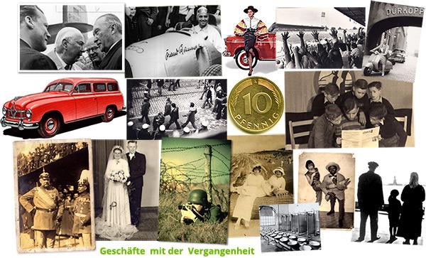 Helden der Geschichte - Geschäfte mit der Vergangenheit