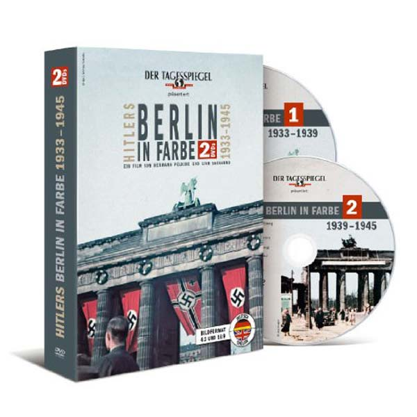 DVD-Cover Hitlers Berlin in Farbe